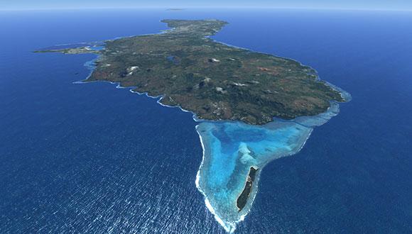 """<h2>Guam & Micronesia</h2> <h4><i class=""""fa fa-circle-thin""""></i> Saipan, Majuro, Chuuk, Yap, etc.</h4>"""